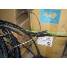 Оптический кабель Б/У для внешней прокладки (с металлическим тросом) в Норильске, оптокабель БУ (Норильск)