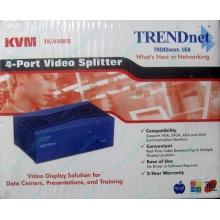 Видеосплиттер TRENDnet KVM TK-V400S (4-Port) в Норильске, разветвитель видеосигнала TRENDnet KVM TK-V400S (Норильск)