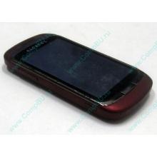 Красно-розовый телефон Alcatel One Touch 818 (Норильск)