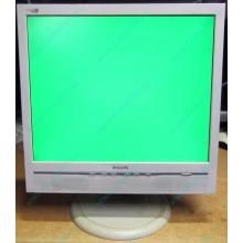 """Б/У монитор 17"""" Philips 170B с колонками и USB-хабом в Норильске, белый (Норильск)"""