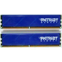 Память 1Gb (2x512Mb) DDR2 Patriot PSD251253381H pc4200 533MHz (Норильск)